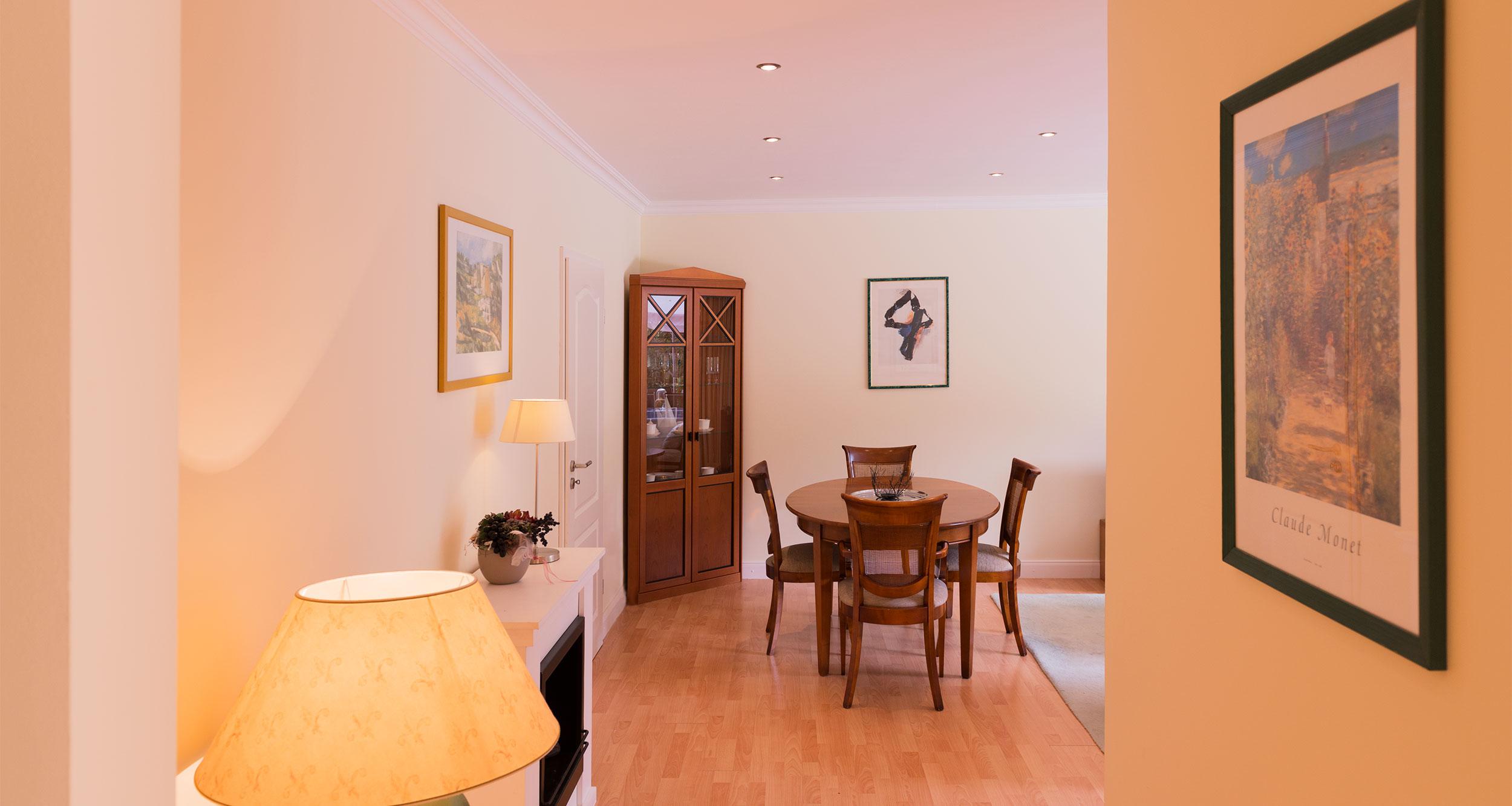Appartment Rosengarten - Wohnzimmer